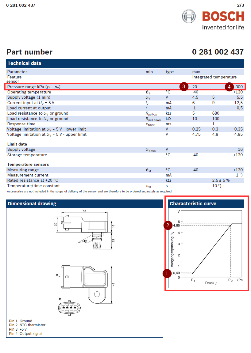 Scion FRS and Toyota GT86 Omni Power 3 Bar MAP Sensor for Subaru BRZ